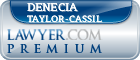 Denecia Rachelle Taylor-cassil  Lawyer Badge