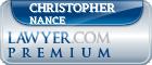 Christopher Scott Nance  Lawyer Badge