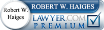Robert W. Haiges  Lawyer Badge