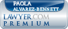 Paola Marie Alvarez-bennett  Lawyer Badge