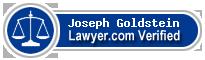 Joseph A. Goldstein  Lawyer Badge