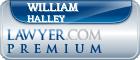 William Harrison Halley  Lawyer Badge
