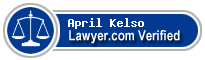 April Danielle Kelso  Lawyer Badge