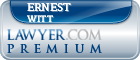 Ernest Wayne Witt  Lawyer Badge