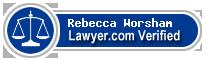 Rebecca Lea Worsham  Lawyer Badge