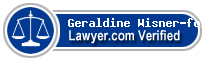 Geraldine Elaine Wisner-foley  Lawyer Badge