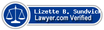 Lizette B. Sundvick, Esq.  Lawyer Badge