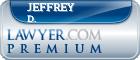 Jeffrey Price Feuquay Ph. D.  Lawyer Badge