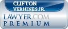 Clifton Kent Verhines Jr.  Lawyer Badge