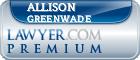 Allison Angeline Greenwade  Lawyer Badge