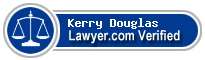 Kerry Patrick Douglas  Lawyer Badge