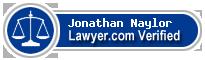 Jonathan Francis Naylor  Lawyer Badge
