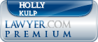 Holly Hillary Kulp  Lawyer Badge