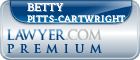 Betty Ann Pitts-cartwright  Lawyer Badge