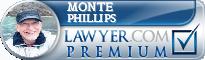 Monte C. Phillips  Lawyer Badge