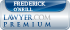 Frederick Alexander O'Neill  Lawyer Badge