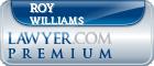 Roy Eugene Williams  Lawyer Badge