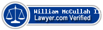 William Franklin McCullah III  Lawyer Badge