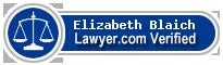 Elizabeth Ann Blaich  Lawyer Badge