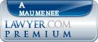 A Elizabeth Maumenee  Lawyer Badge