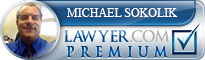 Michael Lane Sokolik  Lawyer Badge