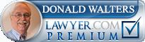 Donald Allen Walters  Lawyer Badge
