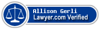 Allison Robyne Gerli  Lawyer Badge