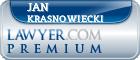 Jan Z Krasnowiecki  Lawyer Badge