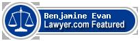 Benjamine Irving Evan  Lawyer Badge