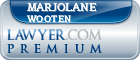 Marjolane Merryweather Wooten  Lawyer Badge