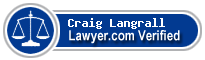 Craig Harrison Langrall  Lawyer Badge