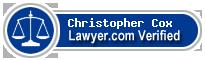 Christopher Paul Cox  Lawyer Badge
