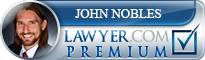John S. Nobles  Lawyer Badge