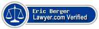 Eric Berger  Lawyer Badge
