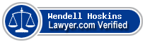Wendell Louis Hoskins  Lawyer Badge