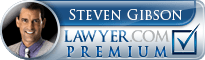Steven A. Gibson  Lawyer Badge