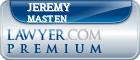 Jeremy Michael Masten  Lawyer Badge
