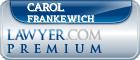 Carol R. Frankewich  Lawyer Badge