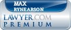 Max Dewayne Rynearson  Lawyer Badge