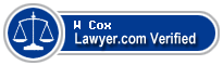 W Stephens Cox  Lawyer Badge