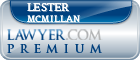 Lester Mcmillan  Lawyer Badge