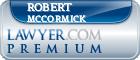 Robert E McCormick  Lawyer Badge