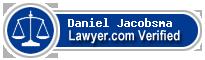 Daniel Craig Jacobsma  Lawyer Badge