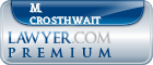 M. Joe Crosthwait  Lawyer Badge