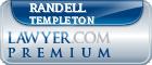 Randell Templeton  Lawyer Badge