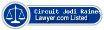 Circuit Jodi Raines Dennis Lawyer Badge