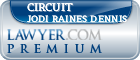 Circuit Judge Jodi Raines Dennis  Lawyer Badge
