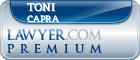 Toni Himes Capra  Lawyer Badge