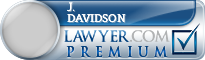 J. Paul Davidson  Lawyer Badge