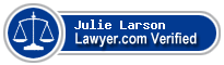 Julie Marie Larson  Lawyer Badge
